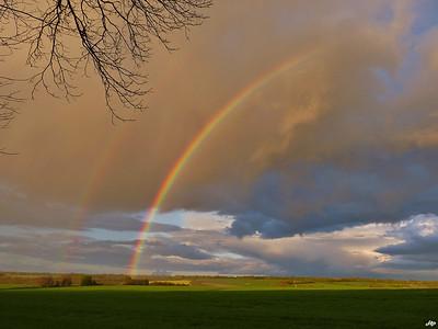 2012 - Double arc-en-ciel sur le Berry