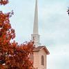 Trinity Presbyterian Church in Fall