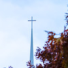 Steeple in Fall