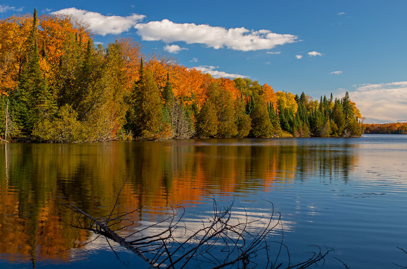 Autumn on Grand Sable Lake