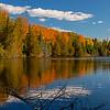 Autumn on Grand Sable Lake