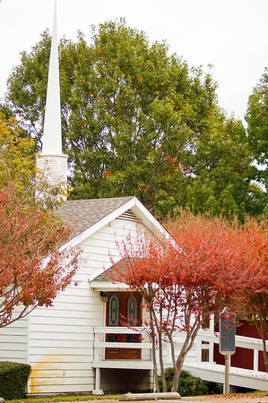 Bethel Chapel in Fall