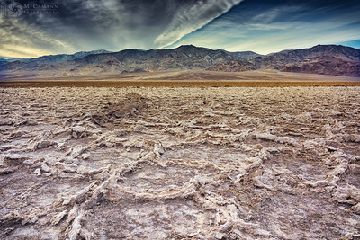 Death Valley National Park, California. Thankgiving break.  West Side Road, looking toward the Panamint range.