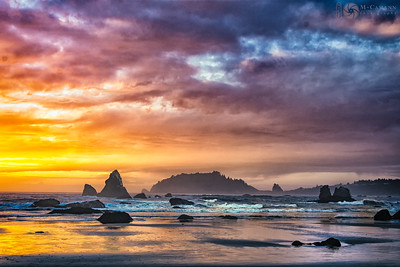 Luffenholtz beach, Humboldt County, California.