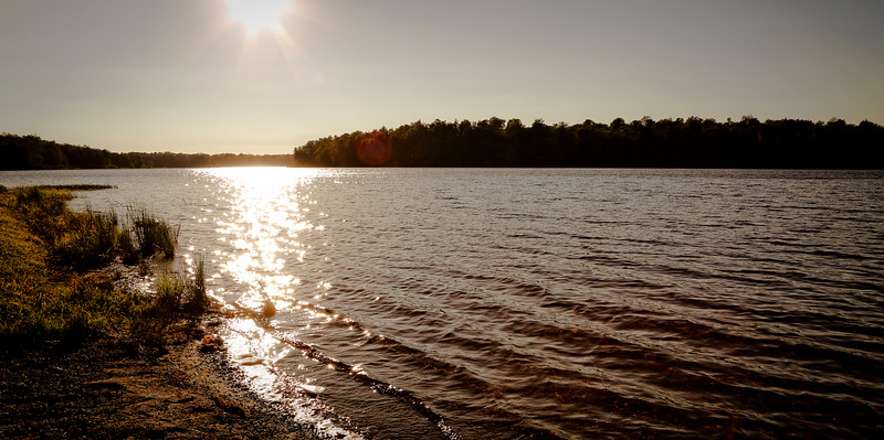 Lake Jean at Ricketts Glern State Park in September