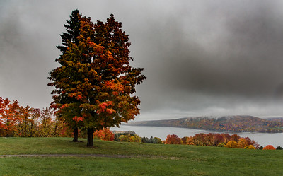Canandaigua Lake from Route 21