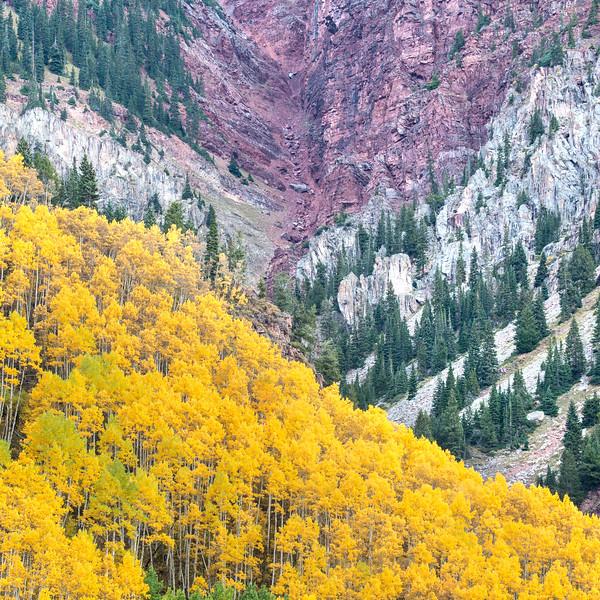 Layers/ Maroon Bells, Colorado