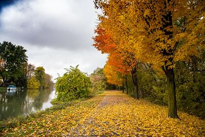Erie Canal trail, Fairport