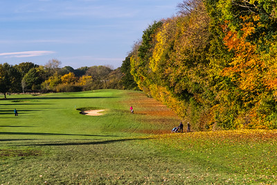Golf in the Autumn