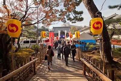 Gishi-sai at Sengakuji (47 Ronin)