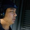 Kien-Wei performs ADR on his scenes.