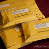 Padded envelopes full of Autumn Gem film festival submissions