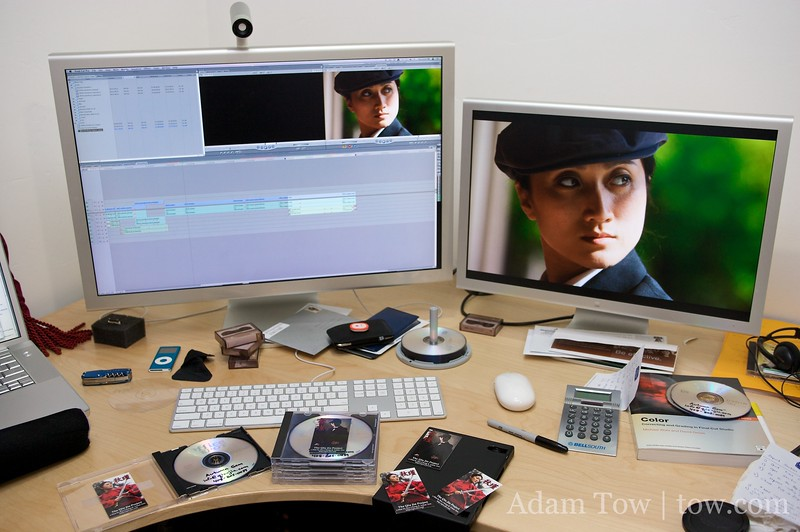 Getting all our materials ready to submit to film festivals.