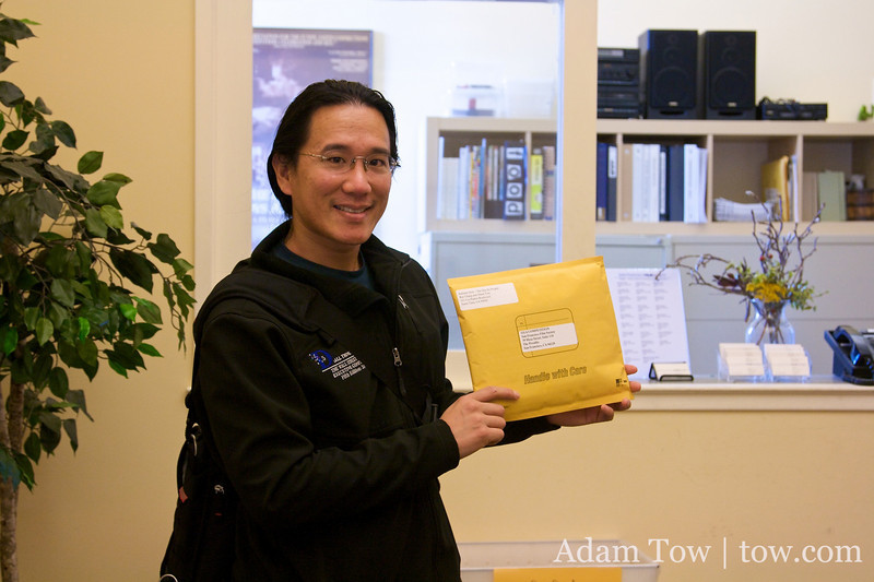 Holding our Autumn Gem submission to the San Francisco International Film Festival.