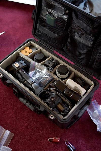 Camera check. Videocamera check. Lenses check. Accessories check.