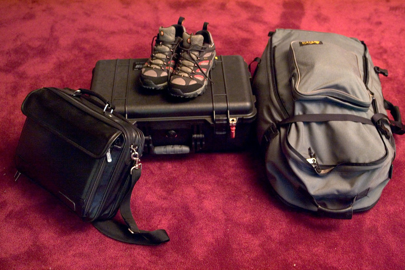 Everything for three weeks in China
