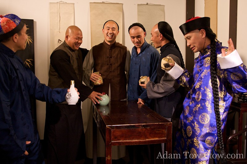 Qiu Jin's husbands drinking buddies