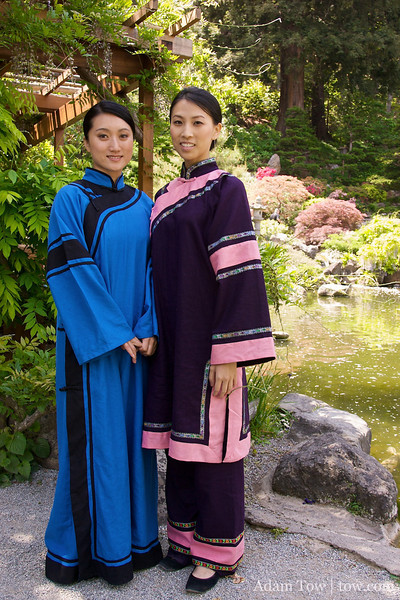 Li Jing and Connie after their filming