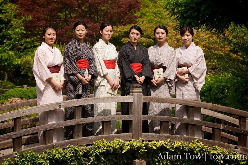 Chinese women in Japan with Qiu Jin.