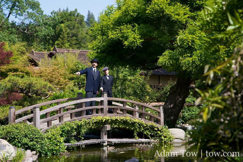Sun Yat-Sen and Qiu Jin (photo by Levi Chang)