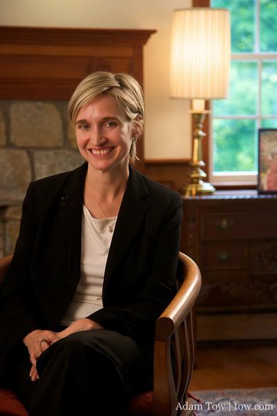 Professor Amy Dooling of Connecticut College.