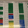 The 3CR schedule. We were on Saturday at 11:00 for the Media Moves section.