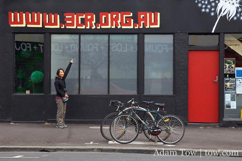 """Find us at  <a href=""""http://www.3cr.org.au"""">http://www.3cr.org.au</a>!"""