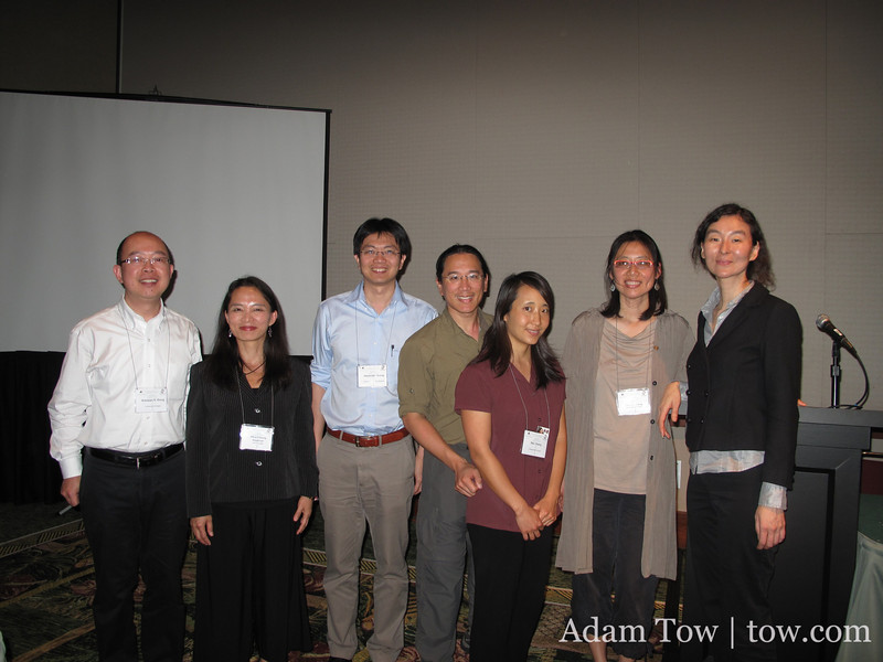 With our fellow AAS Panel speakers.