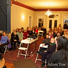 The Morgan Hill House was packed with AAUW and community members.