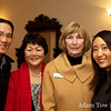 Adam and Rae with Betsy and Peggy from AAUW Morgan Hill.
