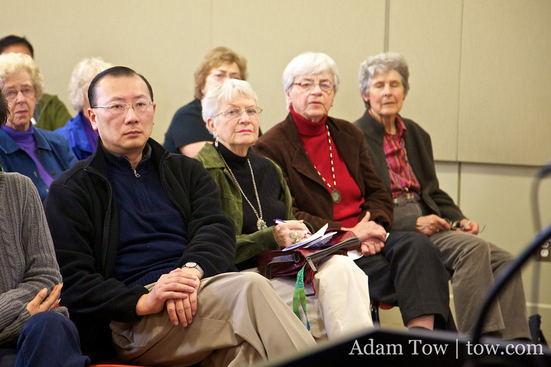 Charles, the Great-Grandnephew of Qiu Jin, attended our screening at the Willow Glen Public Library in San Jose.