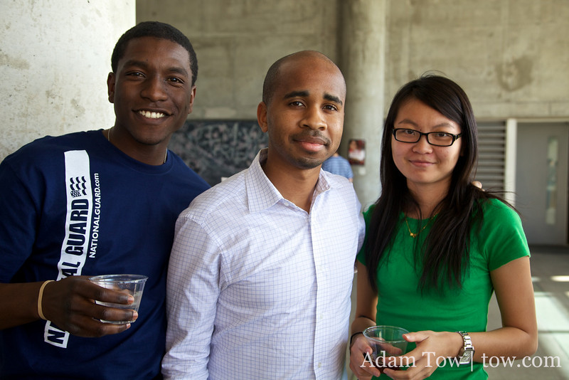 Marcus, Brian and Jasmine, students at ASU who attended the Autumn Gem screening.