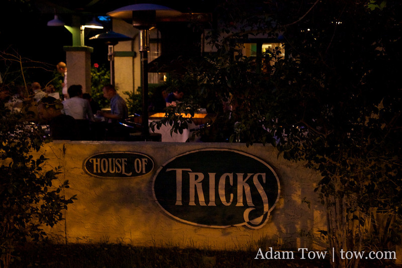 Tricks Restaurant in Tempe, Arizona.
