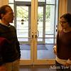 Professor Langton talks with Jeni.