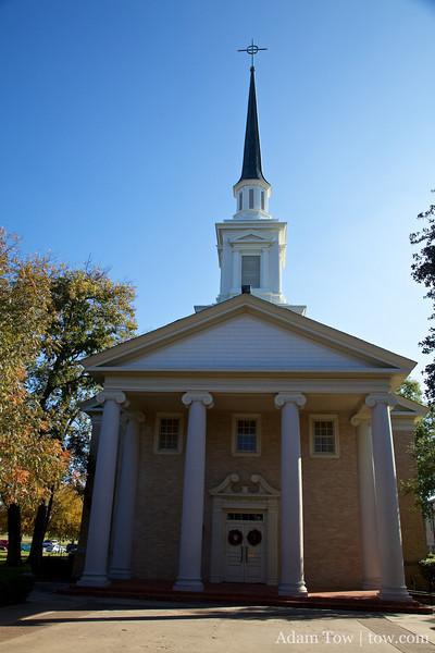 The Austin College Chapel.