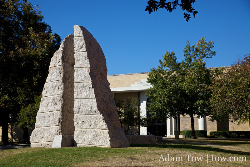 The Solstice Calendar at Austin College.