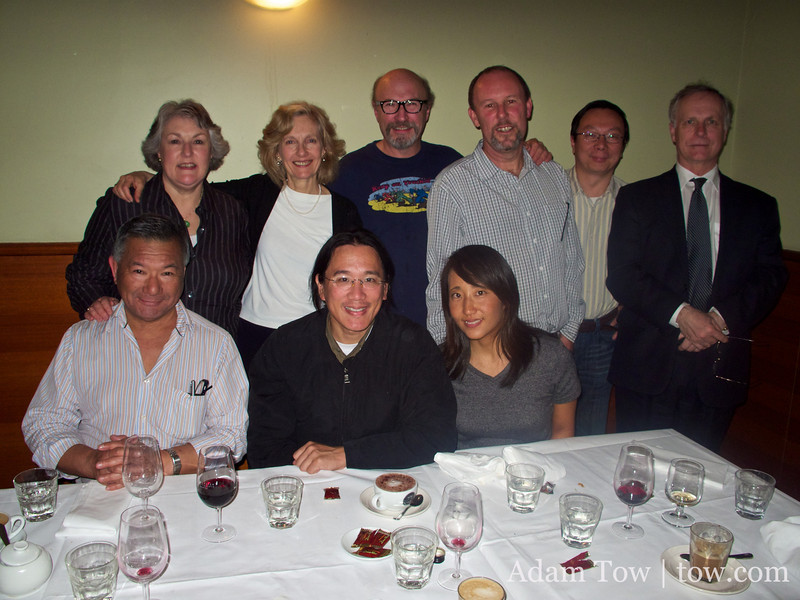 The executive team of the Australia-China Friendship Society.