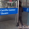 The screening was held in the Carrillo Gantner Theatre at the University of Mebourne, Australia.