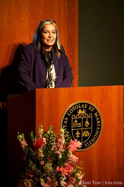 Gail Wronsky from LMU.