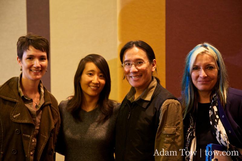 Kyra, Rae, Adam and Gail.