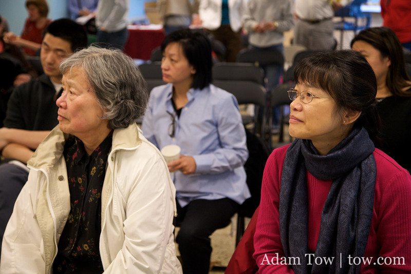 Attendees at the Autumn Gem screening at the BCNC.