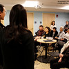 Listening to scholar reactions following the screening of Autumn Gem at the BCNC. Photo Credit: Anh Dao Kolbe