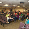 Panorama of the room at Brookdale where we screened the film.