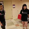 Chun and Michelle were the student organizers for the screening at Brookdale Community College.