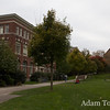 Walking to Wilson Hall, site of the Autumn Gem screening at Brown University.