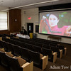 The screen and projector in Wilson Hall was quite impressive. Autumn Gem looked great!