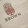 Brown University has their own napkins.
