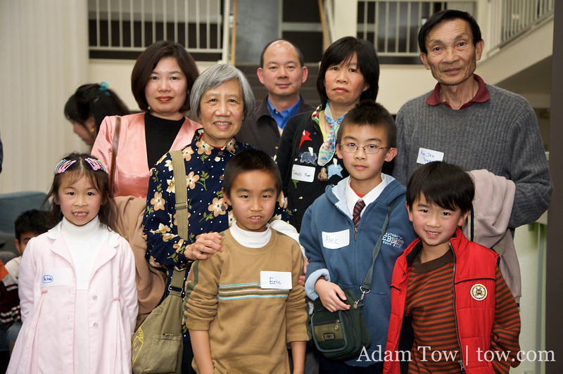 Adam's relatives at the cast and crew (and family) screening of Autumn Gem