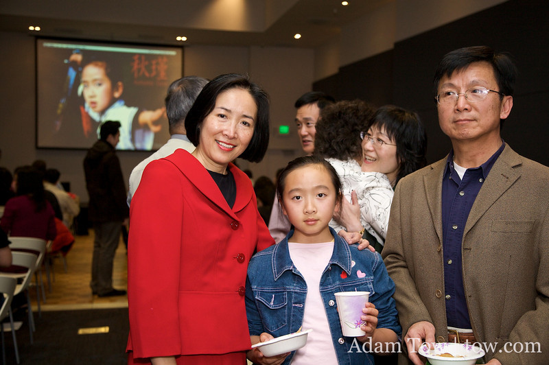 Melissa played the role of Young Qiu Jin in Autumn Gem.
