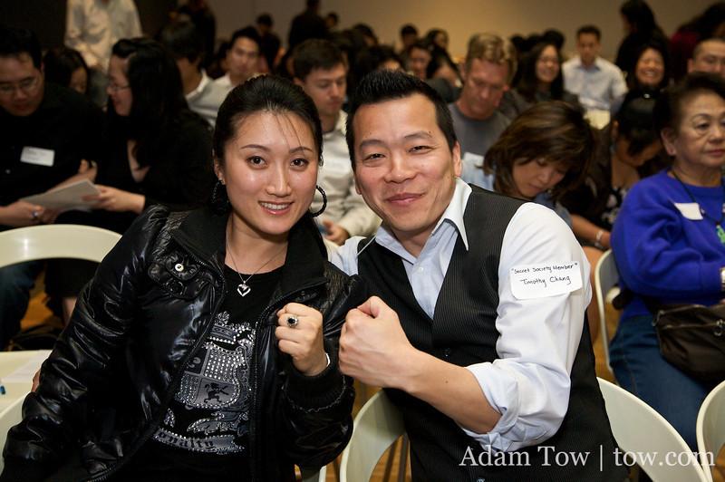 Li Jing and Tim